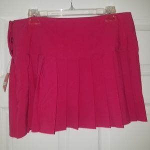 Juniors pink mini skirt NWT